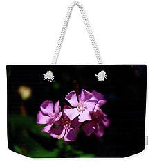 Pink Floral Artistry Weekender Tote Bag