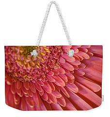 Pink Flower Weekender Tote Bag by George Robinson