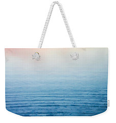 Pink Fog At Sunrise Weekender Tote Bag by Shelby  Young