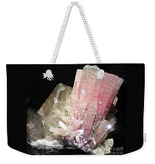 Pink Gemstone Weekender Tote Bag
