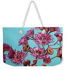 Pink Gum Blossoms Weekender Tote Bag