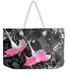 Pink Hats  Weekender Tote Bag by Cathy Dee Janes