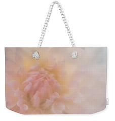 Pink Heart Weekender Tote Bag
