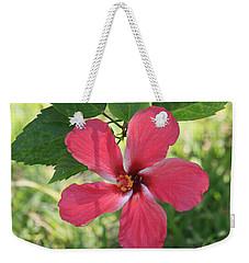 Pink Hibiscus  Weekender Tote Bag