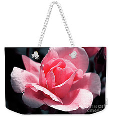 Pink In Light And Shadow Weekender Tote Bag by Rebecca Davis