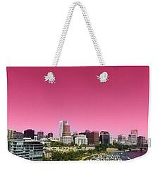 Portland Pink Weekender Tote Bag