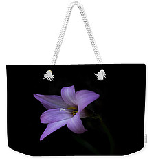 Weekender Tote Bag featuring the photograph Pink by Judy Hall-Folde