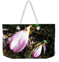 Pink Ladies Slipper 1 Weekender Tote Bag