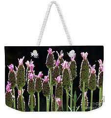 Pink Lavender Weekender Tote Bag