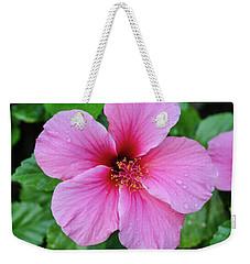 Pink Lugonia Weekender Tote Bag