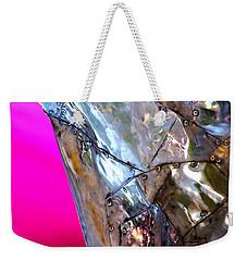 Pink Lustre  Weekender Tote Bag by Prakash Ghai