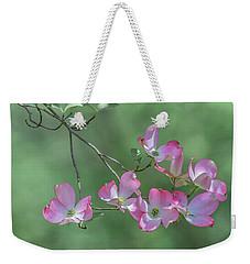 Pink Magnolia Img 1 Weekender Tote Bag