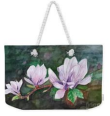 Pink Magnolia - Painting Weekender Tote Bag