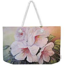 Pink Mist Weekender Tote Bag