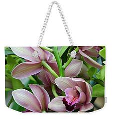 Pink Orchids 2 Weekender Tote Bag
