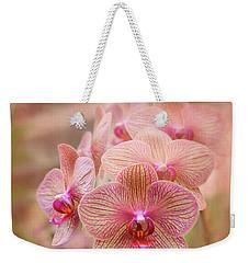 Pink Orchids Weekender Tote Bag by Robert FERD Frank