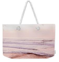 Pink Pacific Beach Weekender Tote Bag