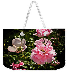 Weekender Tote Bag featuring the photograph Pink Passion  by Joann Copeland-Paul