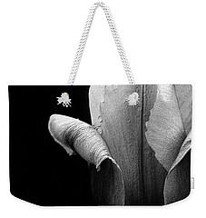 Pink Pearl Petals In Black And White Weekender Tote Bag