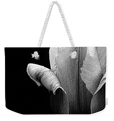 Pink Pearl Petals In Black And White Weekender Tote Bag