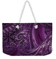 Purple Persuasion  Weekender Tote Bag
