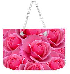 Pink Pink Roses Weekender Tote Bag