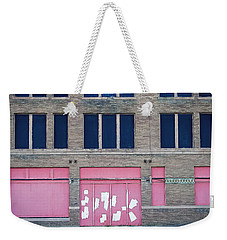 Weekender Tote Bag featuring the photograph Pink Promises by Trish Mistric