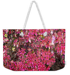Pink Rhododendron Weekender Tote Bag by Thom Zehrfeld