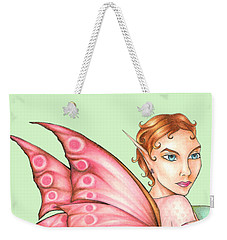 Pink Ribbon Fairy For Breast Cancer Awareness Weekender Tote Bag