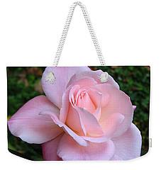 Pink Rose Weekender Tote Bag by Carla Parris