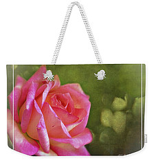 Pink Rose Dream Digital Art 3 Weekender Tote Bag