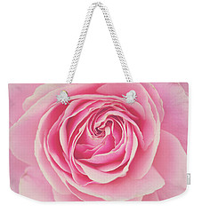 Pink Rose Petals Weekender Tote Bag by Melanie Alexandra Price