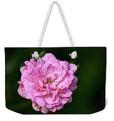 Pink Rose Petals Weekender Tote Bag
