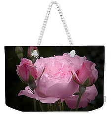 Pink Rose With Buds Weekender Tote Bag
