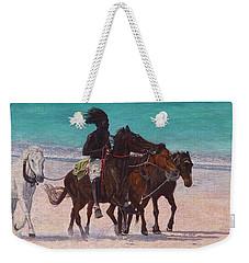 Pink Sand Rider Weekender Tote Bag