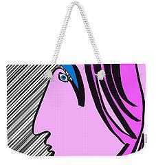 Pink Scarf Weekender Tote Bag