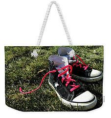 Pink Shoe Laces Weekender Tote Bag