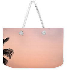 Pink Skies Weekender Tote Bag by Corinne Rhode