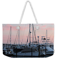 Pink Skies Weekender Tote Bag by Nance Larson