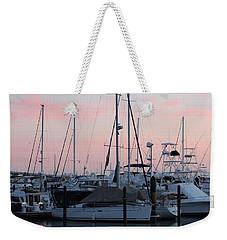 Pink Skies Weekender Tote Bag