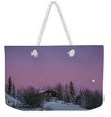 Pink Sky At Night Weekender Tote Bag