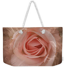 Pink Smokey Weekender Tote Bag by Clare Bevan
