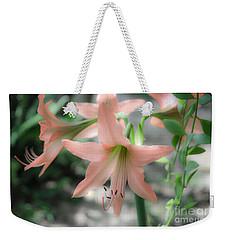 Pink Softness Weekender Tote Bag