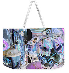 Pink Starfish Jars Weekender Tote Bag