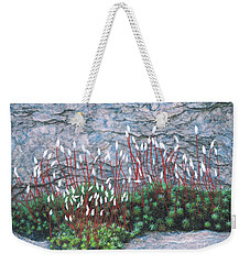 Pink Stony Creek Granite Still Life Study Weekender Tote Bag