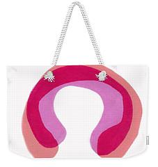 Pink Study Weekender Tote Bag