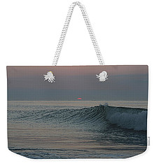 Weekender Tote Bag featuring the photograph Pink Sun Sunrise by Robert Banach