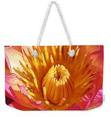 Pink Suprise Weekender Tote Bag