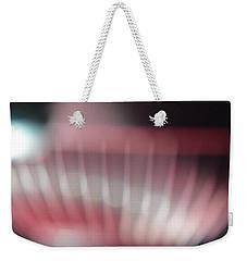 Pink Swirl Weekender Tote Bag by Allen Beilschmidt
