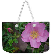 Pink Tea Rose Weekender Tote Bag